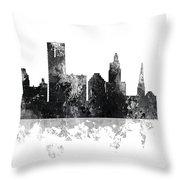 Providence Rhode Island Skyline Throw Pillow
