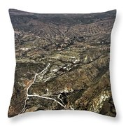 Province Of Alicante Throw Pillow