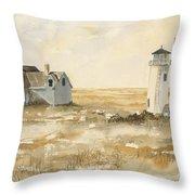 Provincetown Light Throw Pillow