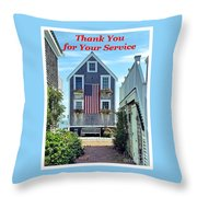 Provincetown Patriot By Sharon Eng Throw Pillow