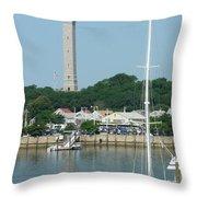Provincetown Pilgrim Monument Throw Pillow