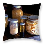 Provisioning The Ship Throw Pillow