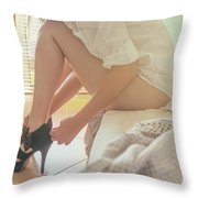 Provocative Throw Pillow