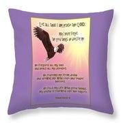 Psalm 103 Throw Pillow