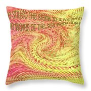 Psalm 107 Throw Pillow