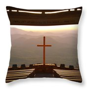 Psalm 121 1 I Will Lift My Eyes To The Hills Throw Pillow