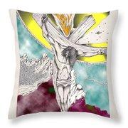 Psalm 22 Ch 13-15... Throw Pillow