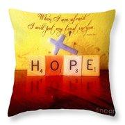 Psalm 56 3 Throw Pillow