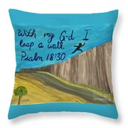 Art Therapy For Your Wall Psalm Art Throw Pillow