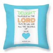Psalms 374 Throw Pillow