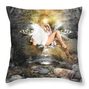 Psyche-2 Throw Pillow