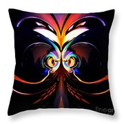 Psychedelic Dreams Throw Pillow