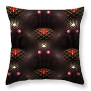 Psychedelic Pattern Throw Pillow