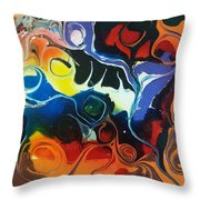 Psychedelica #1 Throw Pillow