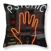 Psychic Readings Throw Pillow