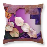 Psycho 3d Throw Pillow