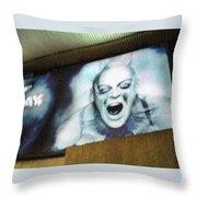 Psychosis - Bad Sign Throw Pillow