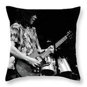 Pt78#27 Enhanced Bw Throw Pillow