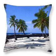 Pu Uhonua O Honaunau Throw Pillow