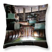 Public Library Cincinnati Throw Pillow
