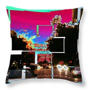 Public Market Center Throw Pillow