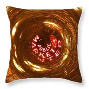 Public Market Vortex Throw Pillow