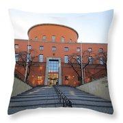 Public Rotunda Throw Pillow