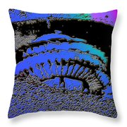 Puddle Needle 2 Throw Pillow
