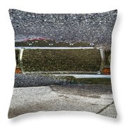 Puddle Reflections Throw Pillow
