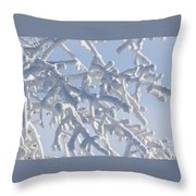 Pudgy Winter Fingers Throw Pillow