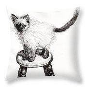 Pudsquiz Belina Throw Pillow