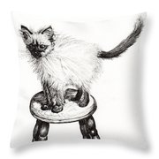 Pudsquiz Belina Throw Pillow