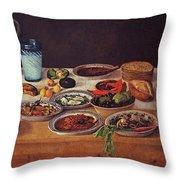 Puebla Kitchen Throw Pillow