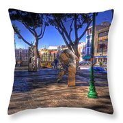 Puebla Mexico Throw Pillow
