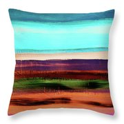 Pueblo 2- Art By Linda Woods Throw Pillow