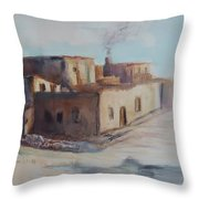 Pueblo After The Rain Throw Pillow