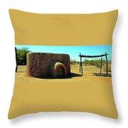 Pueblo Museum 4 Throw Pillow