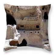 Pueblo Rooms Throw Pillow