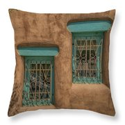 Pueblo Windows Nm Horizontal Img_8336 Throw Pillow