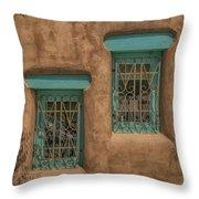 Pueblo Windows Nm Square Img_8336 Throw Pillow