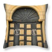 Puerta Suchitoto 2 Throw Pillow