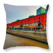 Puerto Madero - Buenos Aires Throw Pillow