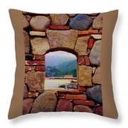 Puerto Vallarta Throw Pillow