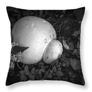 Puff The Magic Fungi Throw Pillow