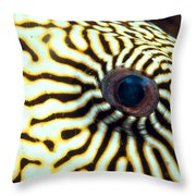 Pufferfish Throw Pillow
