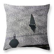 Puget Sound 3 Throw Pillow
