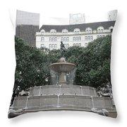 Pulitzer Fountain Throw Pillow