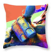 Pull My Finger Throw Pillow