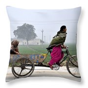 Pull Of Life Throw Pillow