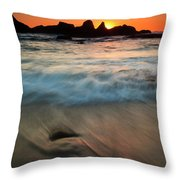 Pulled By The Tides Throw Pillow